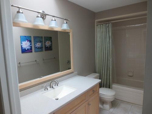 Accessorizing a bathroom to get a spa feling Accessorizing a small bathroom