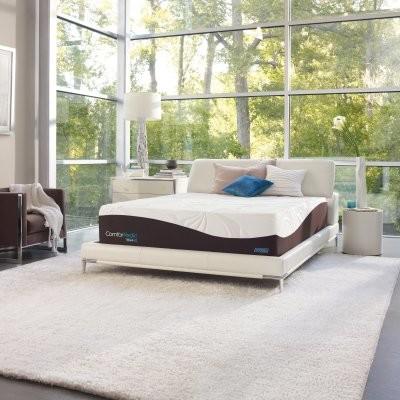 Simmons ComforPedic from Beautyrest Nourishing Comfort Plush Mattress modern-beds