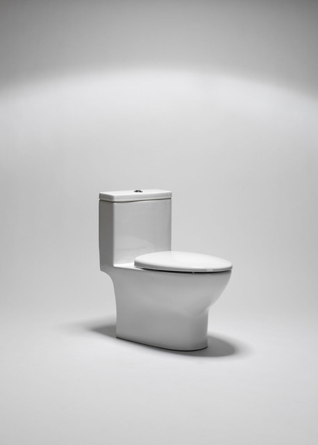 coco dual flush one-piece toilet contemporary-toilets
