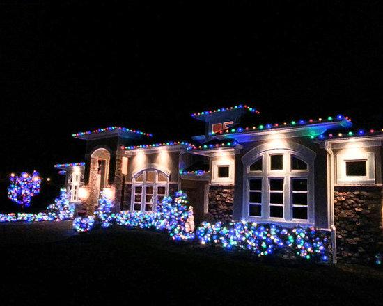 Exterior Holiday Lighting -