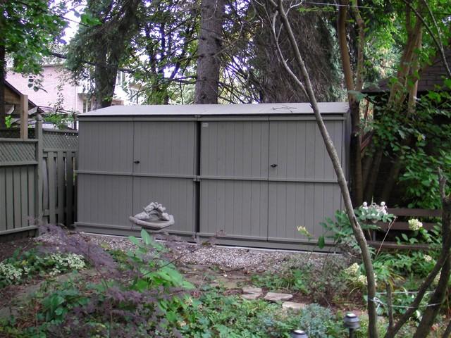 Bin Solutions modern-sheds