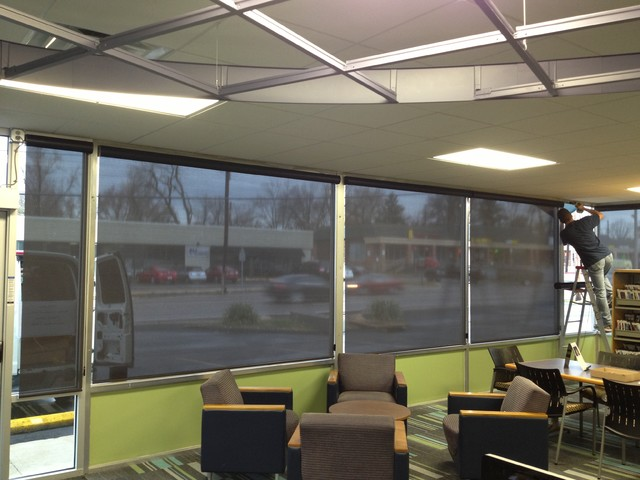 Commercial Window Treatments - Saint Louis - Saint Charles - Roller Shades roller-blinds
