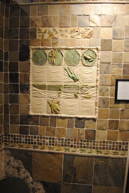 Bathroom Ideas Tropical Bathroom New York By Wayne