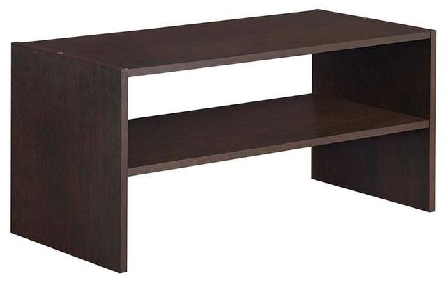 ClosetMaid Closet Organization Impressions 24 in. Chocolate Horizontal Shelf - Contemporary ...