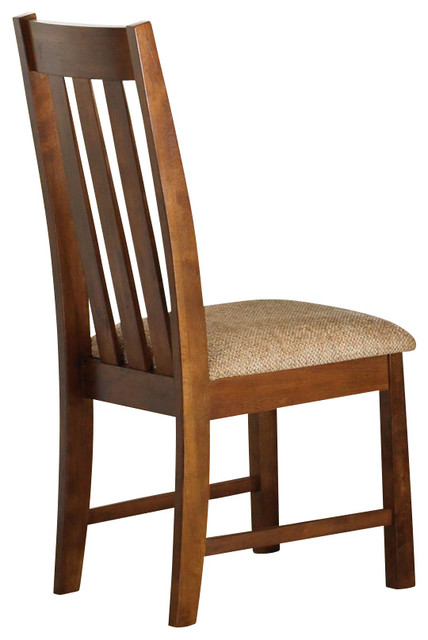 Liberty Furniture Urban Mission Casual Side Chair in Oak (Set of 2) traditional-dining-chairs