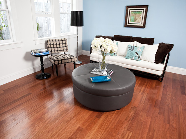 eclectic wood flooring by Paul Anater