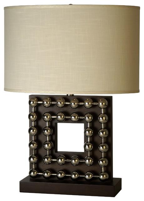 Preston Square Base Table Lamp modern-table-lamps