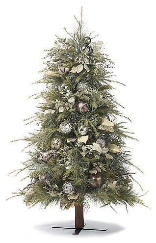 Holiday Frost Tree - Frontgate Christmas Decor traditional-holiday-decorations