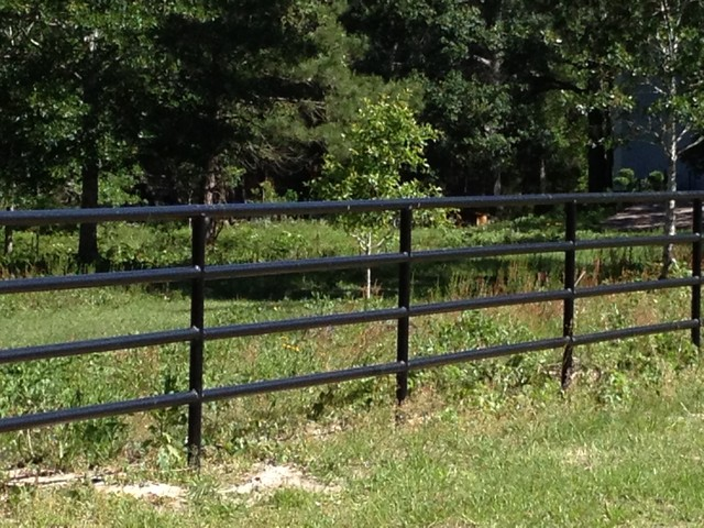 Pipe Fence Bellville Tx Houston By Harkey