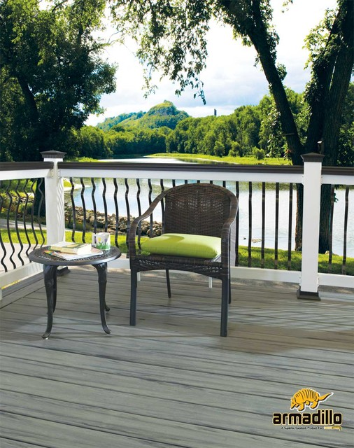 Rhino Deck Armadillo composite decking in Canyon Grey outdoor-products