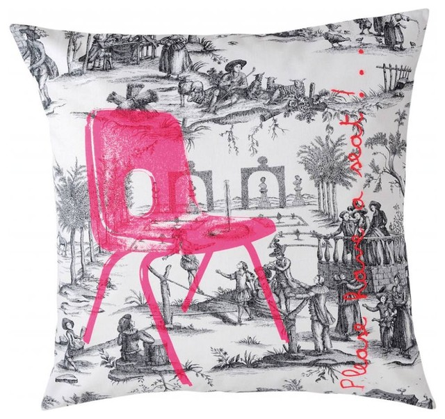 La Cerise Sur le Gateau Kussenhoes Seat contemporary pillows