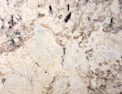 Dahlia White Polished Slab traditional-kitchen-countertops