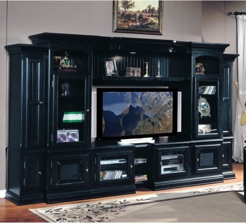 Parker House - Copper Canyon Expandable Entertainment Center traditional media storage