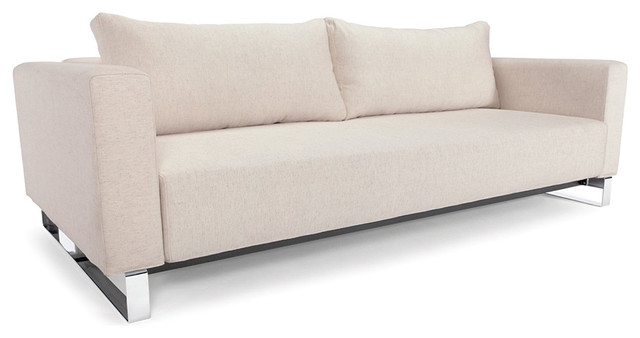 Cassius Sleek Queen Sofa Bed Modern Futons Los Angeles By