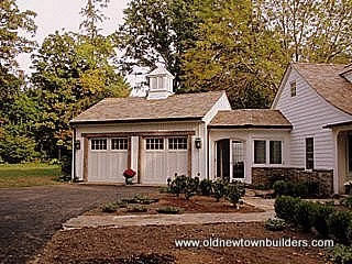 Carriage House Traditional Garage And Shed New York