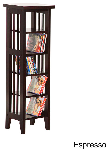 CD/DVD Display Cabinet/ Storage Tower contemporary-storage-units-and ...