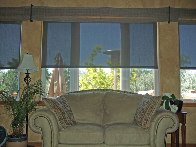 Lutron Shades Contemporary Roller Shades Denver By