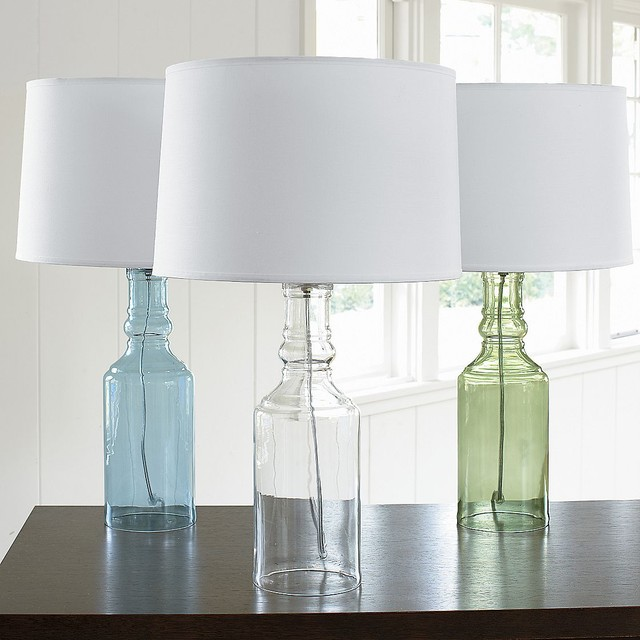 Glass Table Lamp Base traditional-lamp-bases
