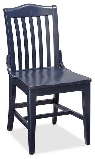 Stella Chair, Navy - Traditional - Dining Chairs - sacramento - by ...