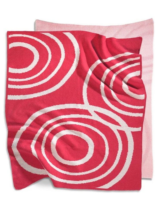 Nook - Knitted Blanket - Blossom - Designed by Nook. Materials: 100% certified organic cotton.