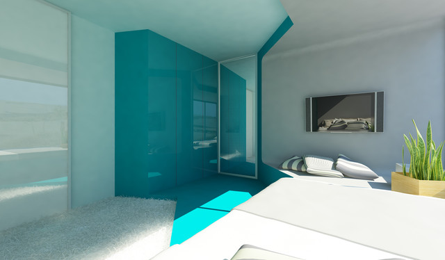 Beach House contemporary-rendering