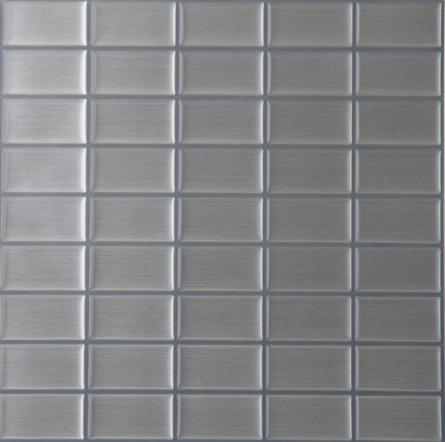 Gel tile backsplash