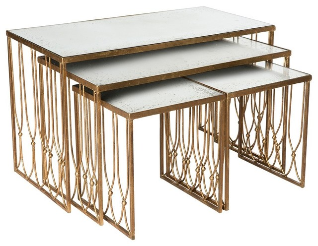 Aidan Gray Furniture Grubb Nesting Coffee Tables Contemporary Coffee Tables By Layla Grayce