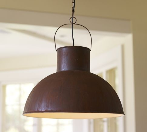 Mansfield Barn Industrial Pendant traditional-pendant-lighting