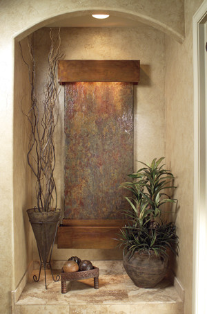 Wall Water Features - Inspiration Falls Slate contemporary-indoor-fountains
