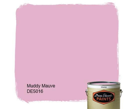 Dunn-Edwards Paints Muddy Mauve DE5016 -