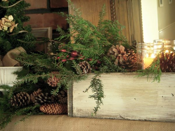 Dawn Mohrmann's Nature Inspired Mantel traditional-family-room
