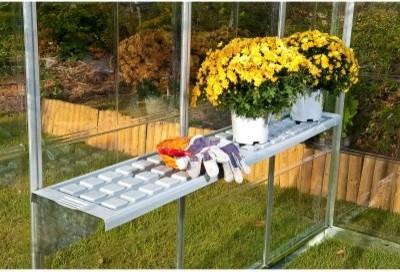 Palram Shelf Kit modern-greenhouses