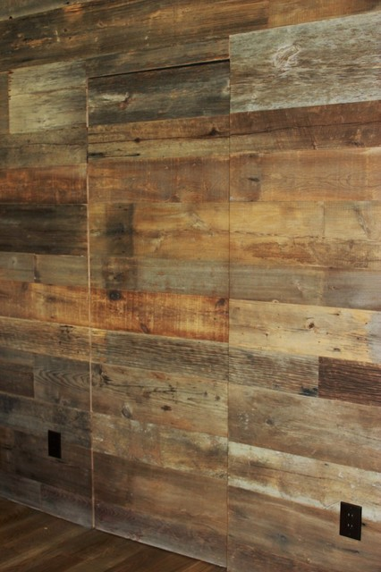 Reclaimed Barn Wood Walls - Contemporary - dallas - by Urban Woods ...