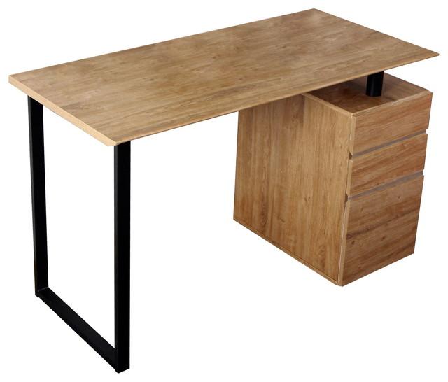 Modern Design Side Cabinet Compact Computer Desk contemporary-desks ...