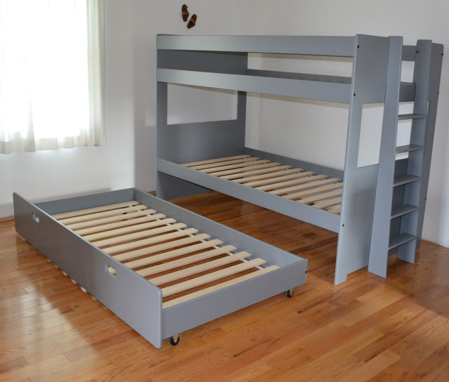 Mid Bunk Beds With 3rd Drawer Bed