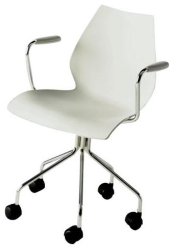 Maui Swivel Armchair modern-office-chairs