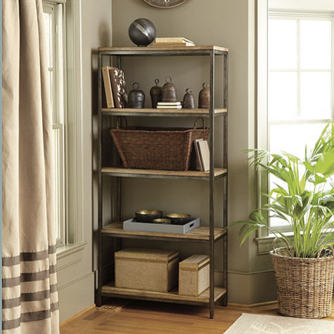 Industrial Bookcases by Ballard Designs