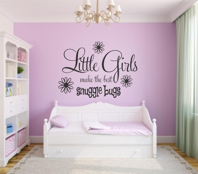 vinyl decals little girls bedroom