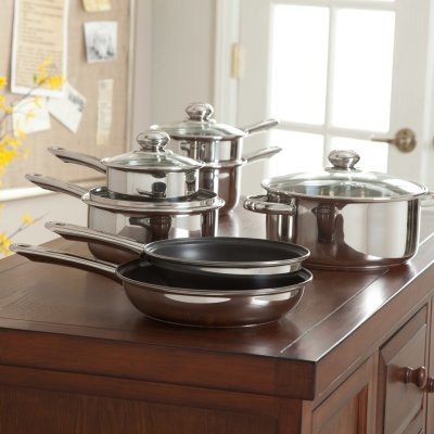 Kinetic Classicor 11-Piece Set with Innovex modern-cookware-sets