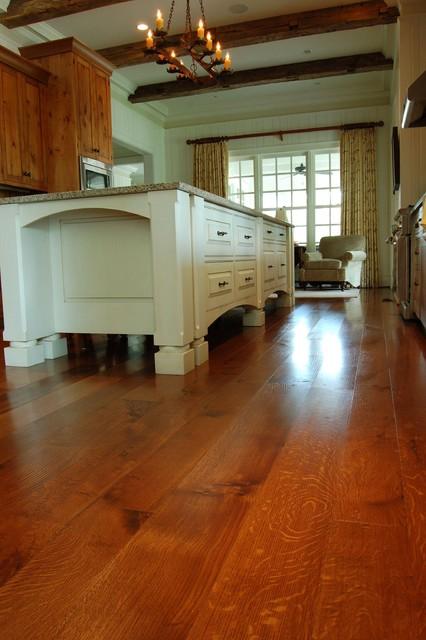 Old World Chateau Oak, Weathered traditional-hardwood-flooring