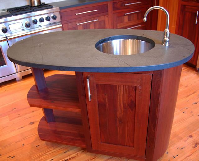 oval custom wood kitchen island kitchen islands and