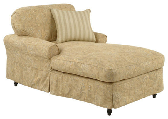 Clean and comfy chaise traditional indoor chaise lounge chairs miami by custom furniture - Comfy chaise lounge chair ...