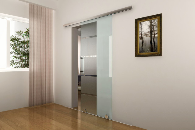 Barn door hardware modern barn door hardware Modern glass doors interior