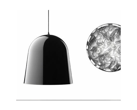 Can Can Pendant Lamp By Flos Lighting - The Can Can suspension by Flos and the Mini Can are a series of new lights from Marcel Wanders.