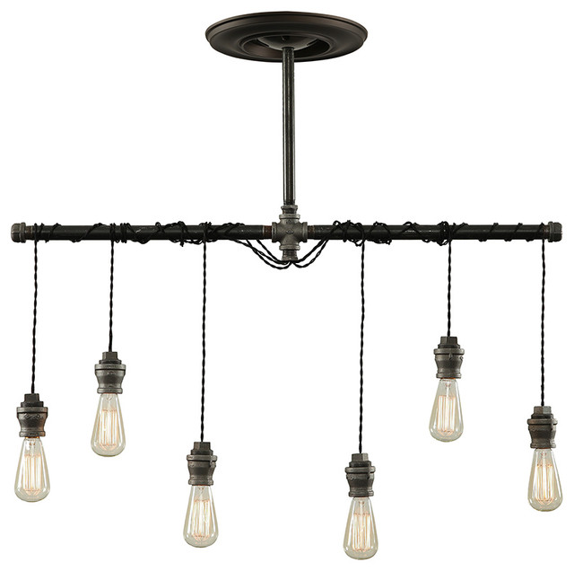 Industrial pendant chandelier industrial chandeliers - Industrial lighting fixtures for kitchen ...