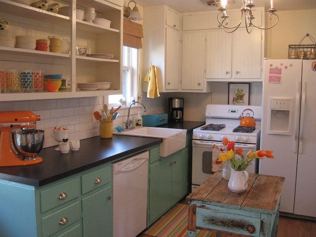 LeAnn eclectic-kitchen