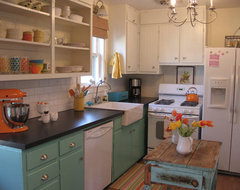 LeAnn eclectic kitchen