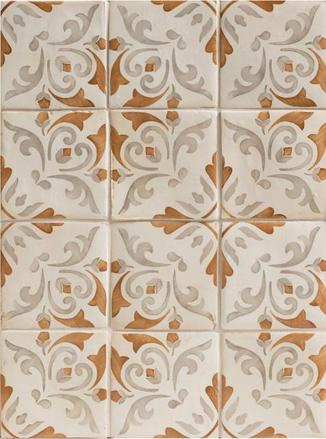 Duquesa Catarina Decorative Field Tile In Ambra