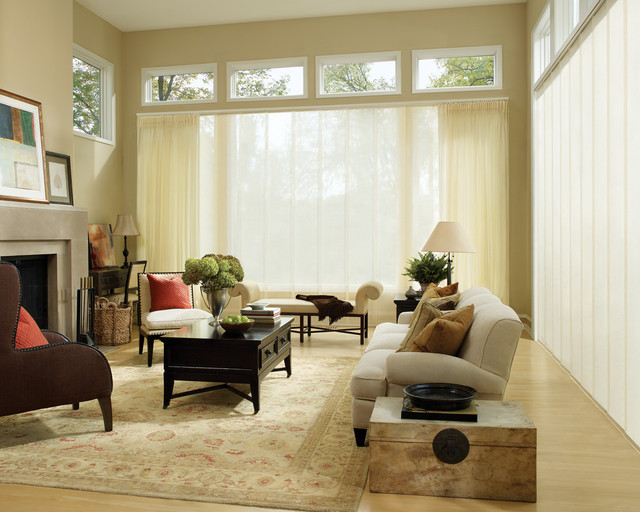 skyline drapes, blinds hunter douglas modern