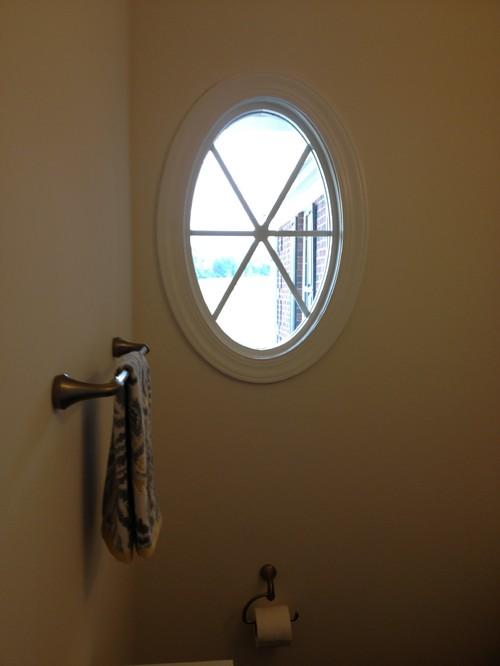 Round window covering for Window design round